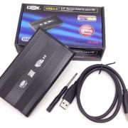 Case Para Hd Notebook 2,5 Sata Para Usb 3.0 DX-2530 Preta