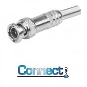 CONECTOR BNC 75 OHMS - BNC 75 OHMS RG-59 - 4MM C/ PARAFUSO