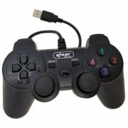Controle Ps3 E Pc Com Fio Ps3 Dualshock Playstation 3 Joypad Kp-4123a+ Knup