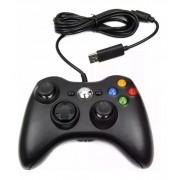 Controle Xbox 360 Fio Pc Computador kp-5121a Joystick Vibração Knup