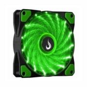 COOLER FAN RISE MODE WIND W1 120MM LED VERDE - RM-WN-01-BG