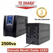 Estabilizador Power Est 2500va Bivolt Ts shara 9013