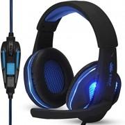 Fone Headset Gamer C/mic Knup Kp-396 Super Bass Hd Pc Xbox, ps4 Azul