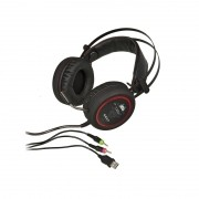 Fone Headset Gamer Knup Kp-401 7.1 Pc Notebook Ps4, Xbox Adaptador P3 #MEGAPROMO