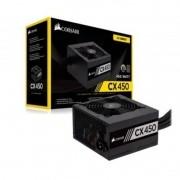 FONTE ATX 450W - CX450 - 80 PLUS BRONZE - COM CABO DE FORCA - CP-9020120-WW CORSAIR