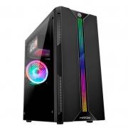 GABINETE GAMER LED RGB FRONTAL USB 3.0 - GB1704 HAYOM#