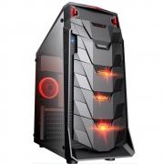 Gabinete Gamer Taurus USB 3.0 Preto LED Vermelho MCA-TAURUS/BK