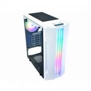 GABINETE GAMING BIFROST WHITE LED RGB CG-04QI K-MEX