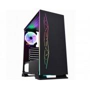 GABINETE GAMING FENIX NEGRA PRETO LED RGB CG-01B8 K-MEX