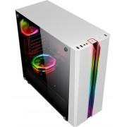 GABINETE GAMING ODYSSEY WHITE LED RGB CG-05RD K-MEX@