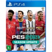 Game Pes 2021 Efootbal Pro Evolution Soccer 2021 Ps4 Mídia Física #SALDAOGAMES