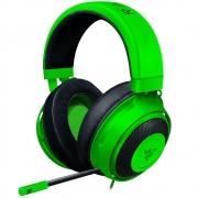 HEADSET FONE RAZER KRAKEN MULTI PLATAFORMA P3 3,5MM 7.1 GREEN