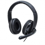HEADSET PRO USB PRETO PH317 MULTILASER