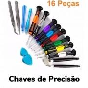 KIT DE CHAVES PRECISÃO 16 EM 1 03698