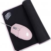 Kit Gamer Combo Arya Mouse 2400 DPI + Mouse pad Speed Rosa MC104 OEX