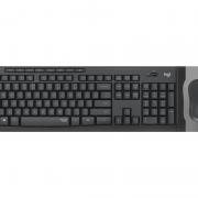 Kit Teclado E Mouse Sem Fio Logitech Mk295 Silent Abnt2 Pt