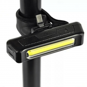 Lanterna Pisca Bike Sinalizador Comet 100 Lums Usb Bicicleta 03546