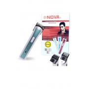 Máquina Aparadora de Barba e Cabelo Nova NHC 3780 Recarregavel Sem Fio Verde***