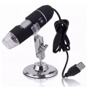 Microscópio portátil digital eletrônico USB 1000x Zoom Hd Câmera 2.0 Mp Profissional 03536