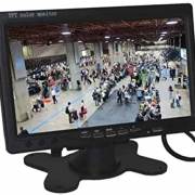Monitor LCD 8 polegadas CFTV e Monitoramentos HDMI/VGA/RCA/USB/BNC A4 03544