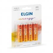 PILHA ZINCO AAA 1,5V BLISTER C/4 R3 ELGIN