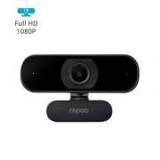 WEBCAM RAPOO FULL HD 1080P QUALIDADE EXCELENTE FOCO AUTOMATICO