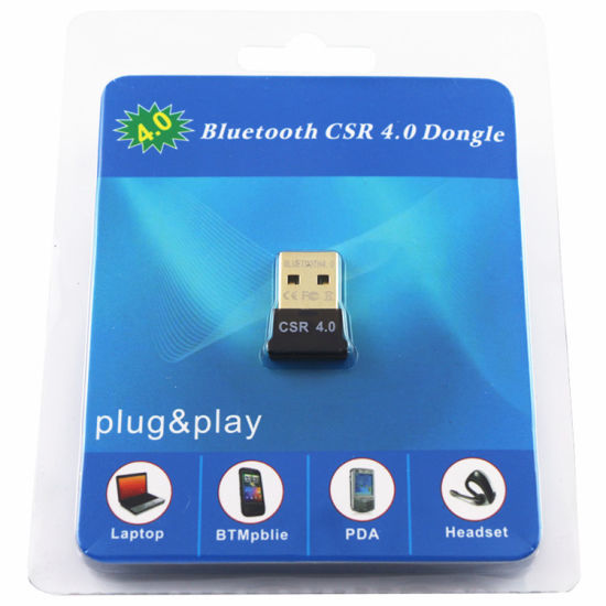 ADAPTADOR BLUETOOTH 4.0 CSR USB PARA PC/NOTEBOOK