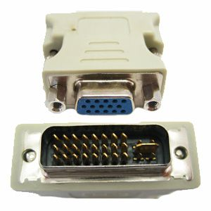 Adaptador Dvi-i (24+5) para Vga P/ Placa De Video Monitor, Projetor