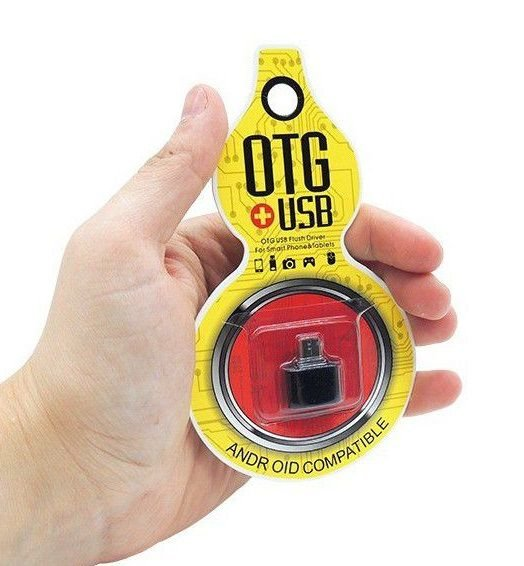 ADAPTADOR OTG V8 MICRO USB PARA USB FEMEA MINI T96