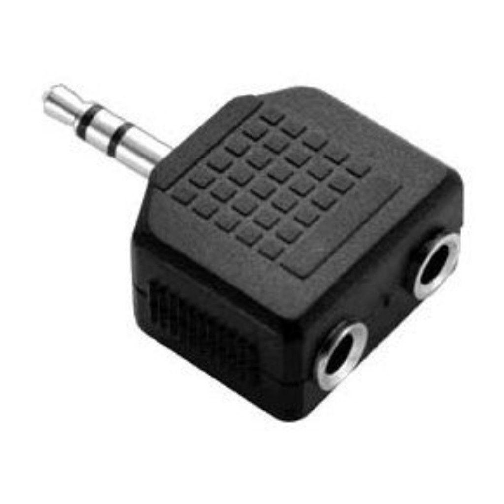 Adaptador P2 Estéreo Para 2 J2 Estéreo Chip Sce 003-1008