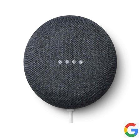 Assistente Pessoal Google Home Mini Preto Caixa D Som Wi-fi Nest Mini