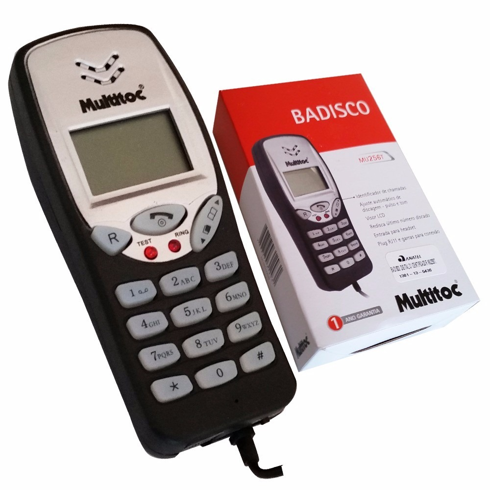 BADISCO DIGITAL C/ IDENTIFICADOR MUBD0256 MULTITOC