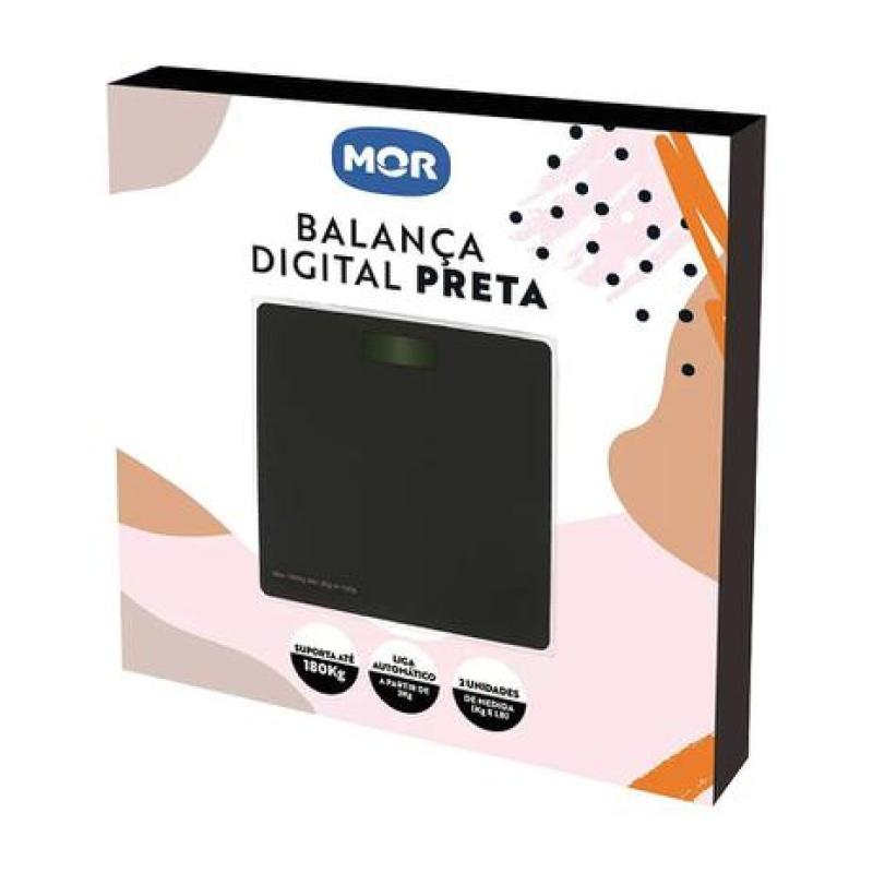 Balança Corporal Digital Mor 8212 até 180kg