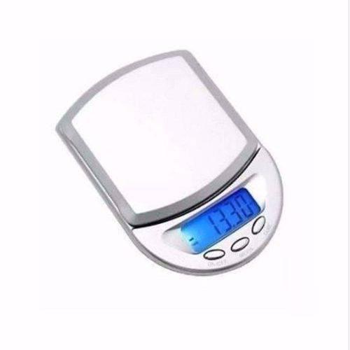 Balança Digital Alta Precisão 0.1g Ate 500g Visor LCD mini