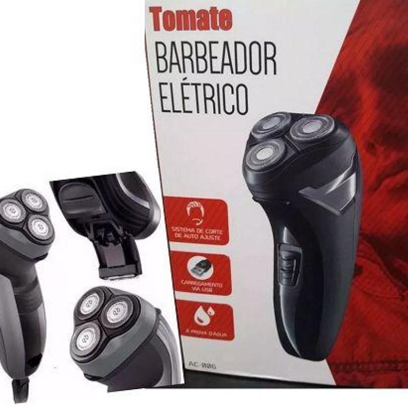 Barbeador e aparador de pelos Elétrico Tomate AC-006