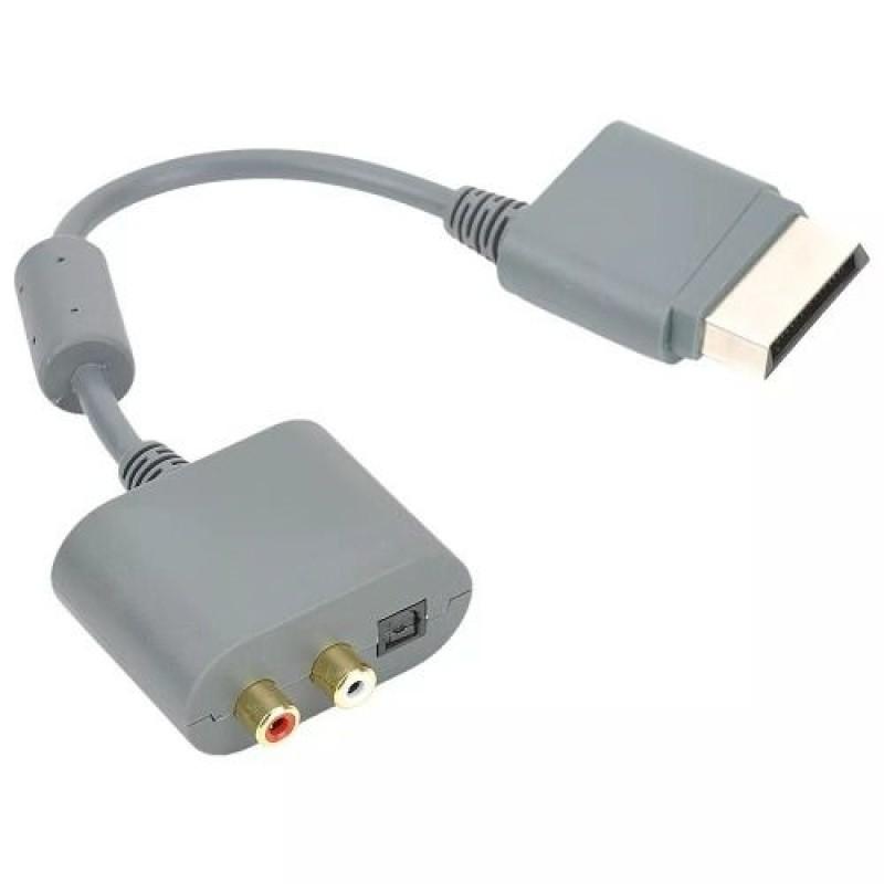 Cabo Adaptador de Áudio Ótico Digital ou RCA Xtrad - XBOX 360 - XD-537