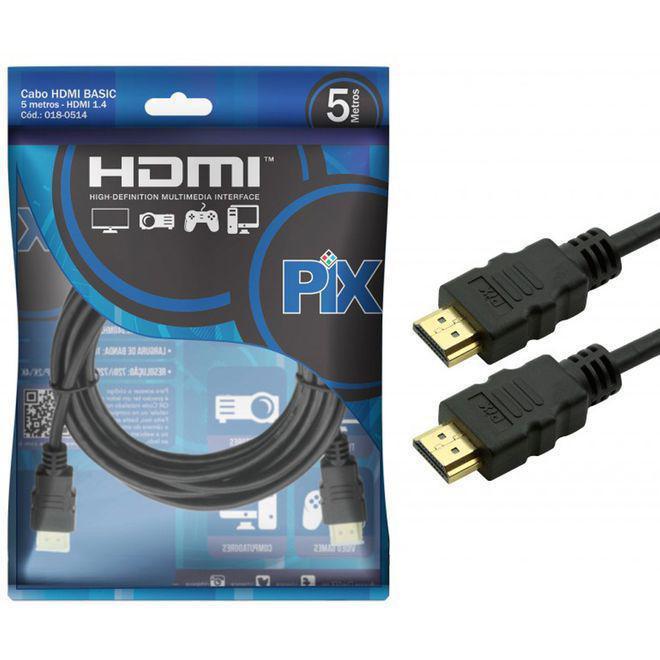 CABO HDMI GOLD 1.4 - 4K ULTRAHD 15P 5M 018-0514