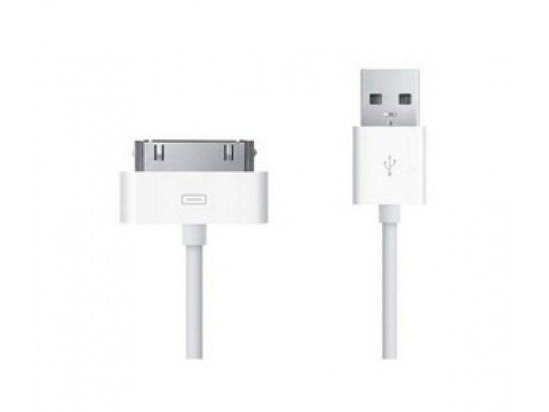 CABO USB IPHONE 4 BRANCO 1 METRO SHK SJX-01-4S