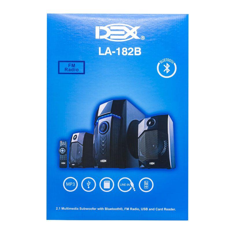 CAIXA DE SOM BLUETOOTH / RADIO / SD / USB / AUX / CONTROLE LA-182B