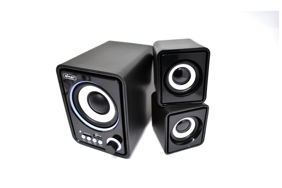 CAIXA DE SOM BLUETOOTH RADIO USB/P2 3,5MM CARTÃO MICRO FM KP-6017BH