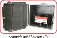 Caixa Hermetica Plus Multitoc 250x250x150mm Multiuso CCCX0090 CINZA