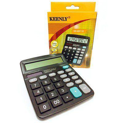 Calculadora 12 dígitos Keenly KK-837A