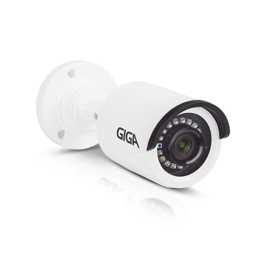 CÂMERA BULLET HD 720P SERIE ORION IR 20M 1/4 3.2MM IP66 - GS0018 GIGA