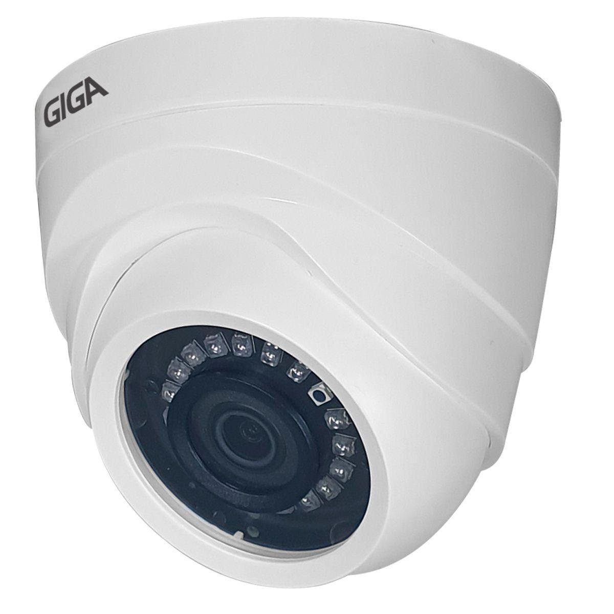 Câmera Dome Giga Open Hd Orion Full Hd 20 Metros 3.6MM GS0270
