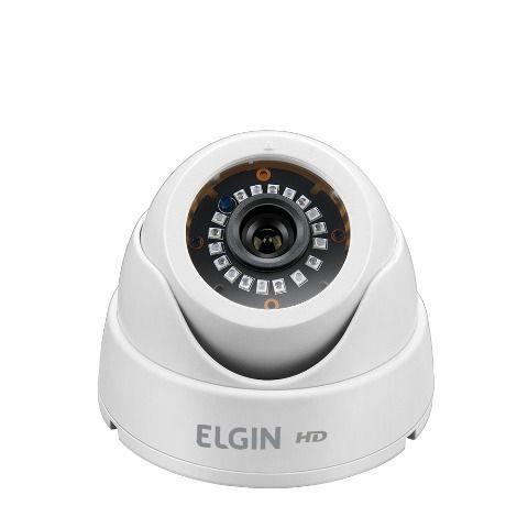 Camera Elgin Dome 4 Em 1 720p 1 Mp 2,8mm 18 Leds Smd Ir 25mt