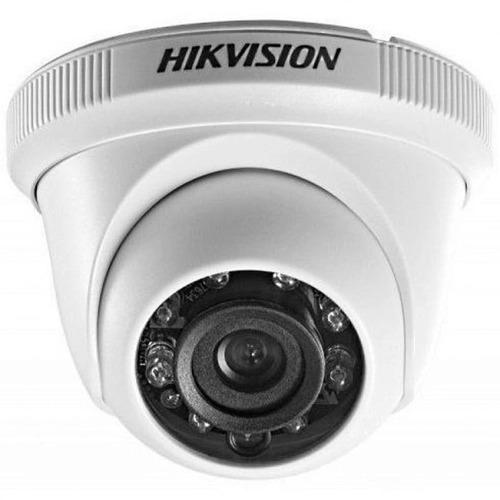 CAMERA HIKVISION DS-2CE56D0T-IRPF(2.8MM) DOME HD-TVI - IR ATE 20M - 2.0 MEGA(1080P) - LENTE 2.8MM