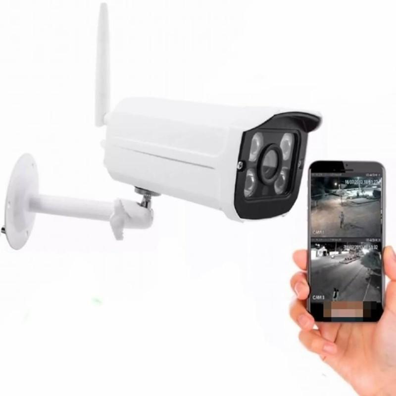 Câmera Ip Externa Wifi Hd Prova D'água ip66 Acesso Remoto Bd604w  03580