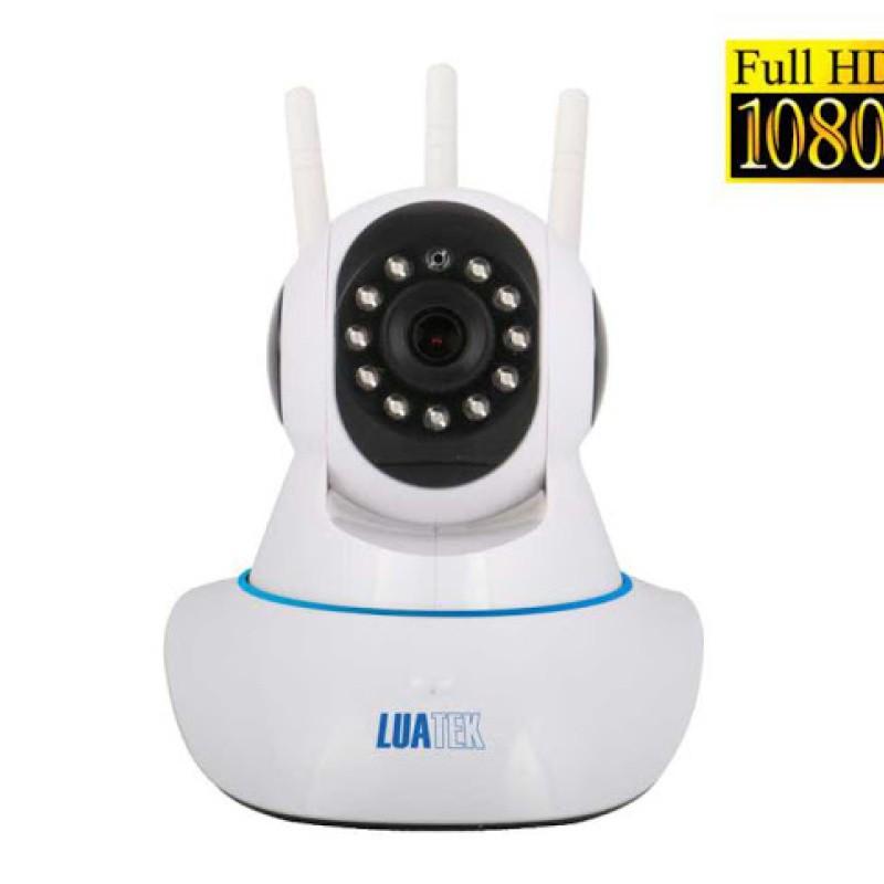 Câmera Ip Segurança Wifi 3 Antenas Wireless Fhd 1080p LKW1320