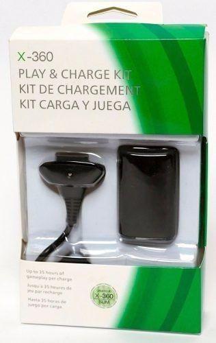Carregador E Bateria Para Controle Xbox360 48000mah En-007 LB-5123