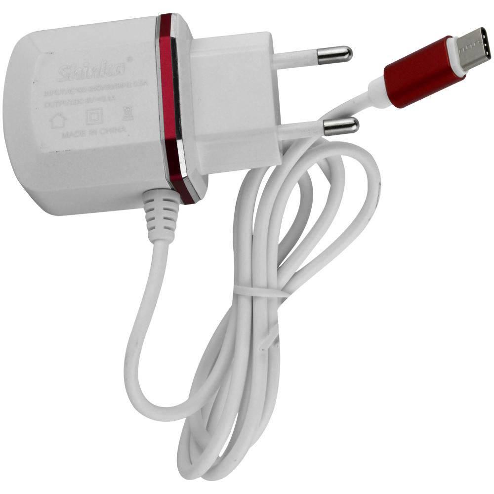 CARREGADOR TYPEC COM 2 USB SHINKA SH-C-2USB 3.1A